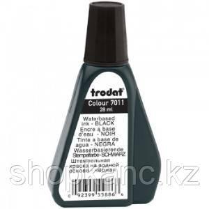 Штемпельная краска на водной основе 7011-Ч  Trodat,  черная
