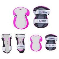 Globber  защита детская Set (25-50 кг), (DEEP PINK)