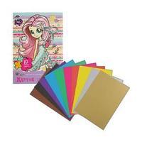 Набор цветного картона, 10 цветов