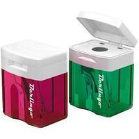 Точилка пластиковая Elements, 1 отверстие, контейнер.