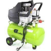 Компрессор воздушный КК-1500/24, 1,5 кВт, 198 л/мин, 24 л, прямой привод, масляный СИБРТЕХ