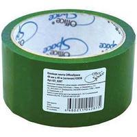 Клейкая лента упаковочная 48 мм*40 м, зеленая.