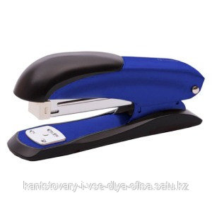 Степлер №24-26/6 25 л., Ulrich синий, индикатор скоб, антистеплер