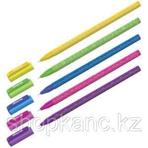 """Ручка шариковая Berlingo """"Funline. Ornament"""", синяя, 0,7мм,  ассорти"""