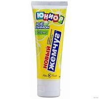 Зубная паста, Юниор, Лимон и мята, с 7 до 12 лет, 75 мл.