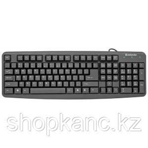 Клавиатура Defender Element, HB-520, PS/2, черный.
