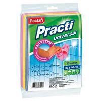 """Салфетки для уборки Paclan """"Practi"""", набор 10шт., нетканое полотно, 30*40см"""