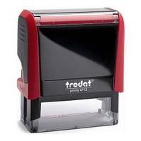 Оснастка для штампа 58х22 красная 4913 NEW P4.