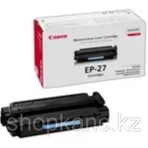 Картридж лазерный Canon EP-27, монохромный, черный