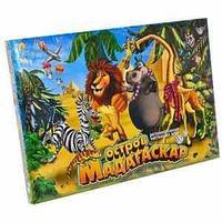 """Игра маленькая настольная """"Остров Мадагаскар"""""""