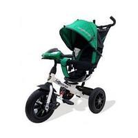 Велосипед Lexus trike 3-колесный, (бело-зеленый) надув.
