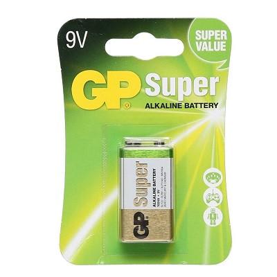 Батарейка GP 9v Super Alcaline (крона) 1604A-CR1 6LR61 BL1