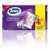 Бумажное полотенце, Zewa Premium Decor, 4  рул в упак