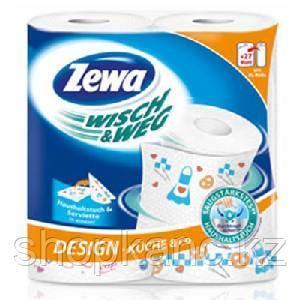 Бумажное полотенце, Zewa Wisch & Weg Design, 2 рул в упак