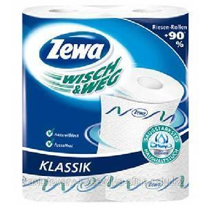 Бумажное полотенце, Zewa Wisch & Weg White, 2 рул в упак