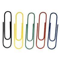 Скрепки цветные DOLCE COSTO, 25 мм/100 шт