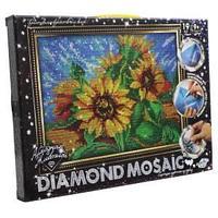 Набор креативного творчества «Diamond Mosaic Подсолнухи» малый