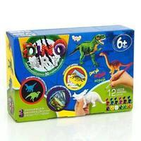 Набор креативного творчества «DINO ART Брахиозавр,тираннозавр,стиракозавр»