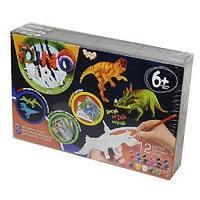 Набор креативного творчества «DINO ART Дилофозавр, стиракозавр, птеранодон»