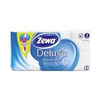 Туалетная бумага Zewa Deluxe White, 3-сл. 8 рул./упак.
