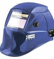 Маска сварщика Кедр (в разобранном виде) K-202 Prime, синяя