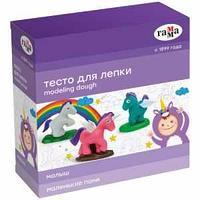 """Тесто для лепки Гамма """"Малыш. Маленькие пони"""", 04 цвета, 240г, набор с аксессуарами"""
