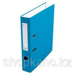 Папка-регистратор Lamark PP 50 мм васильковый, металл.окантовка, карман