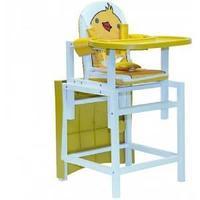 """Стол-стул для кормления Barty """"BABYS"""", (желтый арт.DUCKY)"""