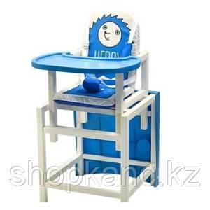 "Стол-стул для кормления Barty ""BABYS"", (синий арт.HEDGY)"