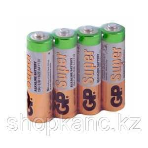 Батарейка Super Alkaline, LR03, AАA, 1.5 V, 4 штуки в плёнке.