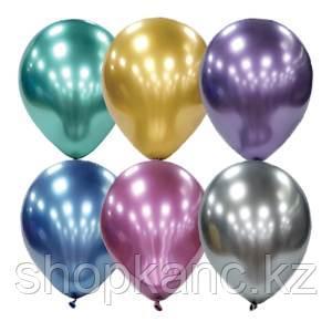 """Воздушные шары, 25шт., М11/28см, Поиск """"Platinum"""", ассорти"""