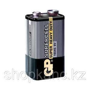 Батарейка Крона, Supercell, MN1604S, 6F22, 9 V, 1 штука в плёнке.