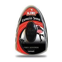 Губка для обуви Kiwi черная 7 мл. с дозатором