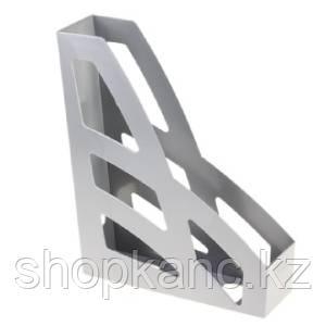 Лоток вертикальный ЛИДЕР серый мелаллик ЛТ123