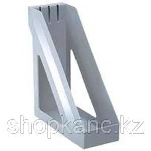 Лоток вертикальный БАЗИС, серый, ЛТ31