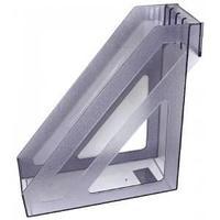 Лоток вертикальный БАЗИС тонированный серый ЛТ36
