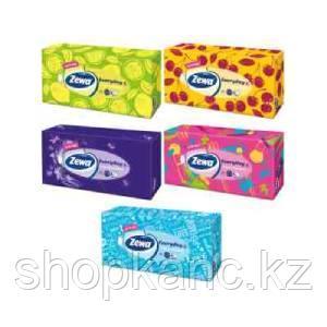 """Салфетки бумажные для лица Zewa """"Everyday"""", 2-слойные, 100шт. в коробке"""