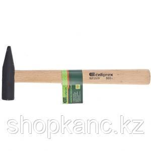 Молоток слесарный, 500 г, деревянная рукоятка