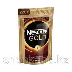 Кофе Nescafe Gold, в пакете, 220 гр.