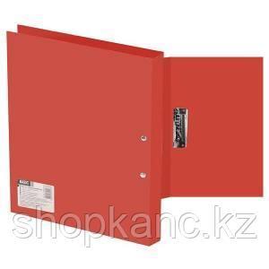 Папка с прижимом, А4, р=0.5мм, BASIC, красная арт.255073-27