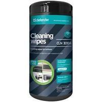 """Салфетки чистящие влажные Defender """"PRO"""" для поверхностей, антибактериальные, в тубе, 110шт."""