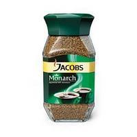 Кофе растворимый сублимированный Jacobs Monarch, 190 гр, стеклянная банка.