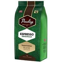 Кофе в зернах Paulig Espresso Originale, натуральный, степень обжарки-4, упаковка 1000 гр.