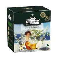 Чай Ahmad Tea, черный листовой, Грушевый штрудель, в пакетиках-пирамидах 20*1,8г,