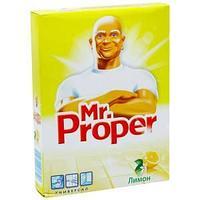 MR PROPER Средство для мытья полов Лимон, порошок, 400 гр.