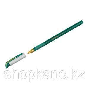 """Ручка шариковая  """"xGold"""" зеленая, 0,7мм, игольчатый стержень, грип"""