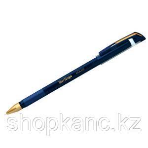 """Ручка шариковая  """"xGold"""" синяя, 0,7мм, игольчатый стержень, грип"""