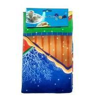 Полотенце кухонное, с рис.Новый год, микрофибра, размер 40*60 см