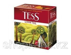 Чай Tess, Lemon Tree, черный, пирамида, 1,8 гр. х 20 пакетов.