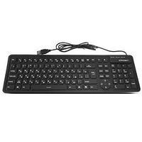 Клавиатура проводная  USB силиконовая,107 клавиш